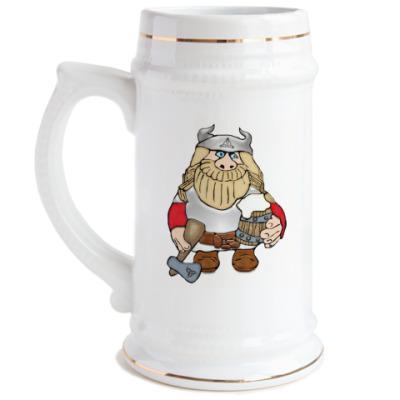 Пивная кружка  Викинг