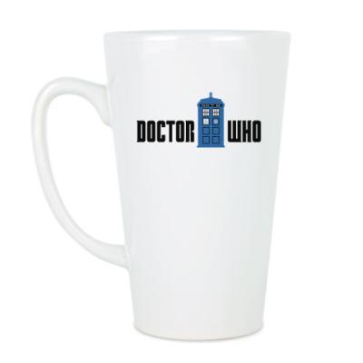 Чашка Латте TARDIS