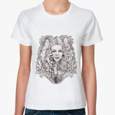 Классическая футболка Praying Angel