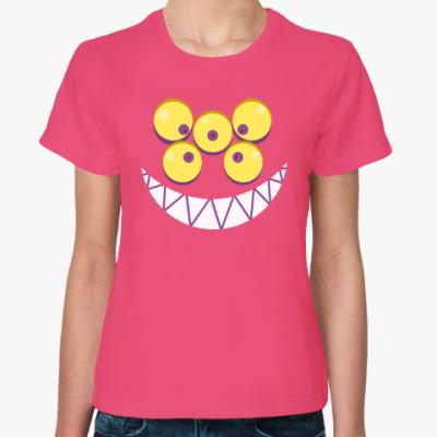 Женская футболка Улыбка Шоарской лисы