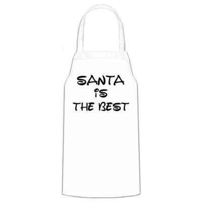 Фартук Надпись Santa is the best