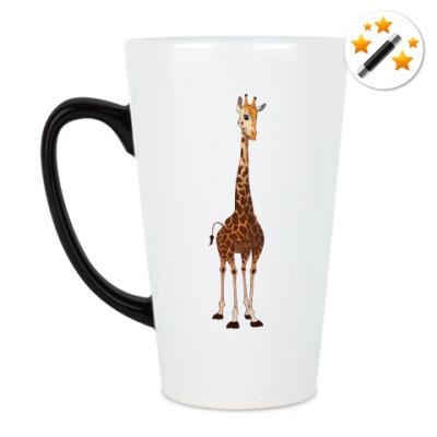 Кружка-хамелеон Жираф