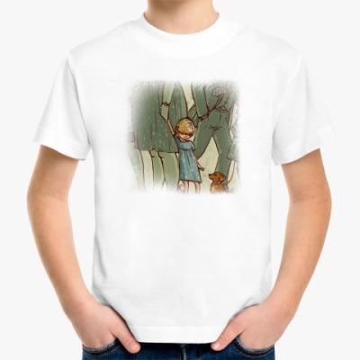 Детская футболка встреча двух сердец