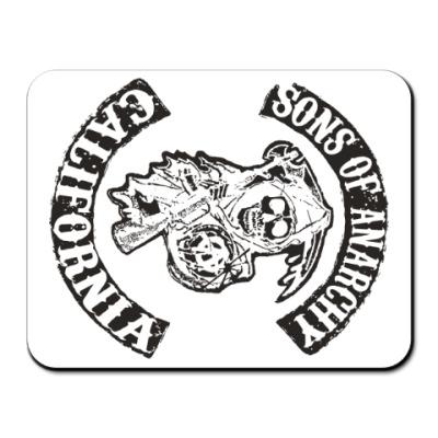 Коврик для мыши Сыны Анархии - Калифорния