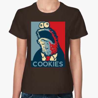 Женская футболка COOKIES - Печеньки