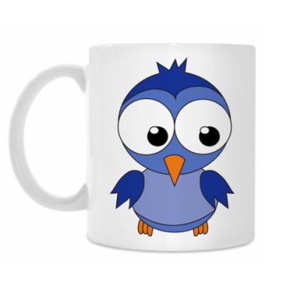 Кружка Синяя птичка