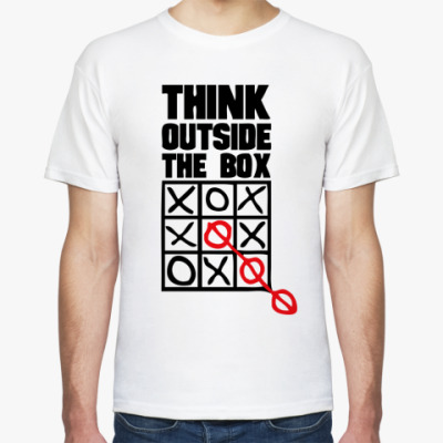 Футболка  Think Outside The Box
