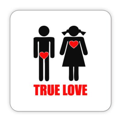 Костер (подставка под кружку) True Love