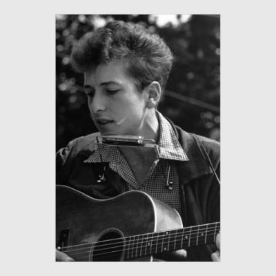 Постер Bob Dylan Боб Дилан