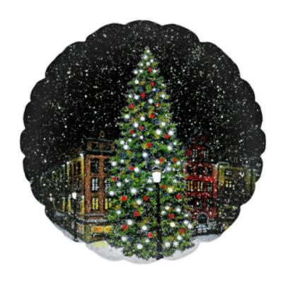 Подушка Рождественская елка