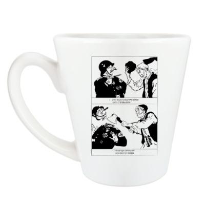 Чашка Латте Партизан