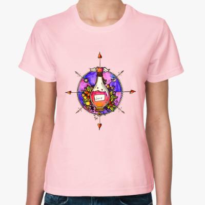 Женская футболка Эликсир