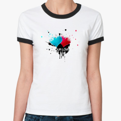 Женская футболка Ringer-T PureLove