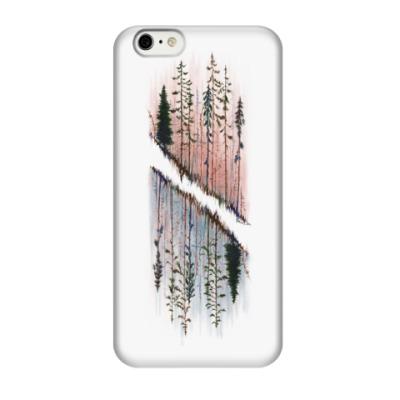 Чехол для iPhone 6/6s Parallel woods