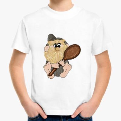 Детская футболка Домовёнок