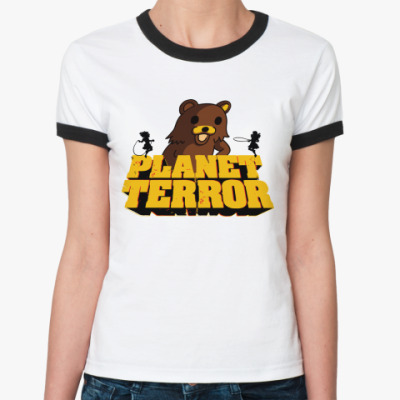 Женская футболка Ringer-T Педобир