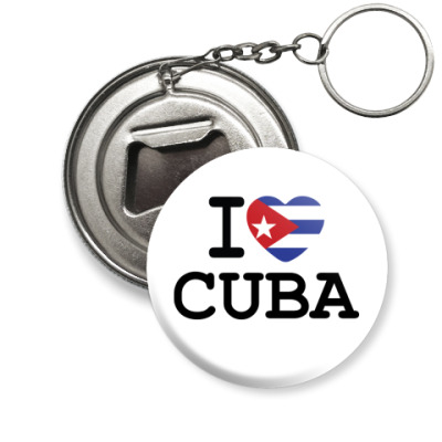 Брелок-открывашка  Love Cuba
