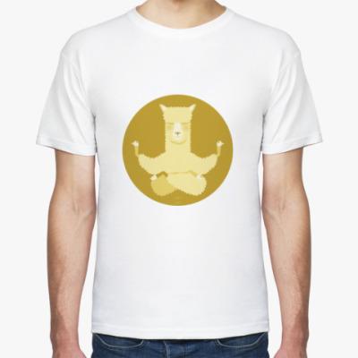 Футболка Animal Zen: A is for Alpaca