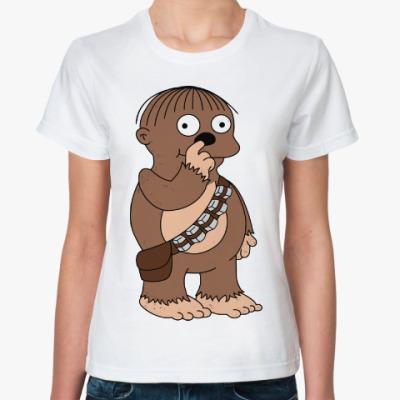Классическая футболка Чубакка Ральф