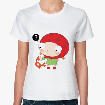 Классическая футболка Рак