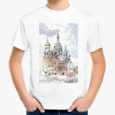 Детская футболка Собор Спас-на-Крови