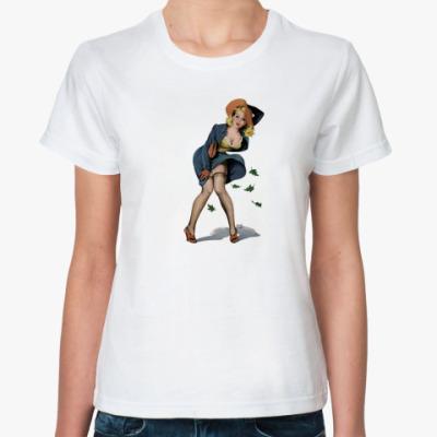 Классическая футболка Лили