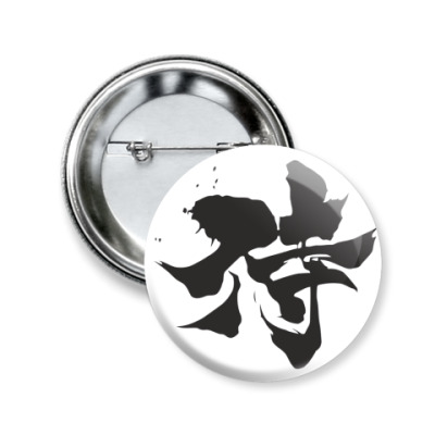 Значок 50мм Samurai (kanji)