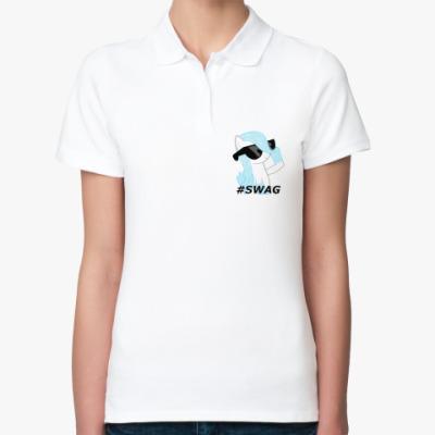 Женская рубашка поло SWAG