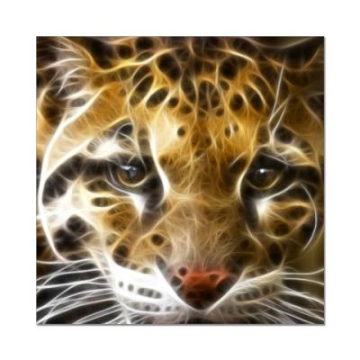 Наклейка (стикер) Тигр
