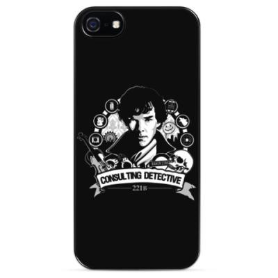 Чехол для iPhone CONSULTING DETECTIVE 221B