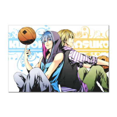 Наклейка (стикер) Kuroko's Basketball