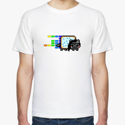 Футболка  Nyan Skrillex