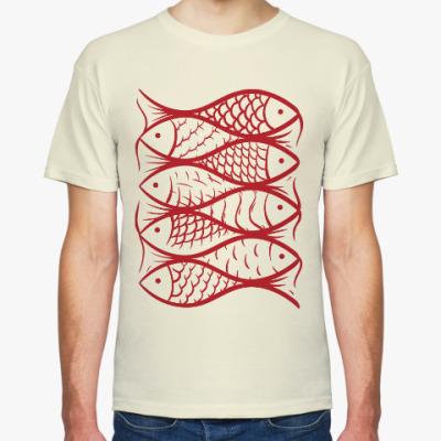 Футболка Рыбы, рыбы, рыбы