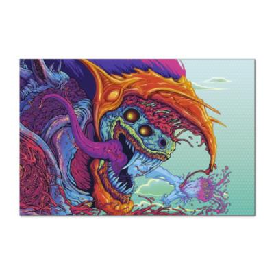 Наклейка (стикер) Hyper Beast