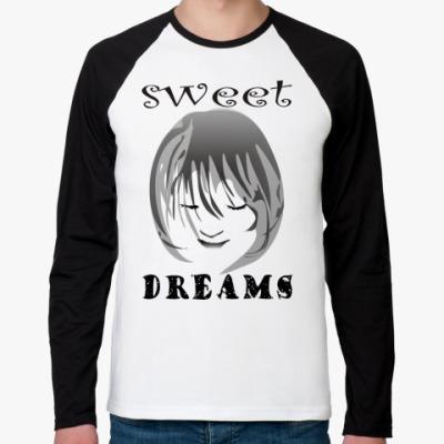 Футболка реглан с длинным рукавом Sweet Dreams