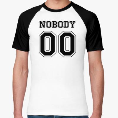Футболка реглан nobody