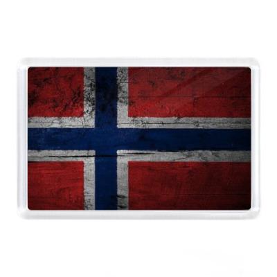 Магнит  'Норвежский флаг'