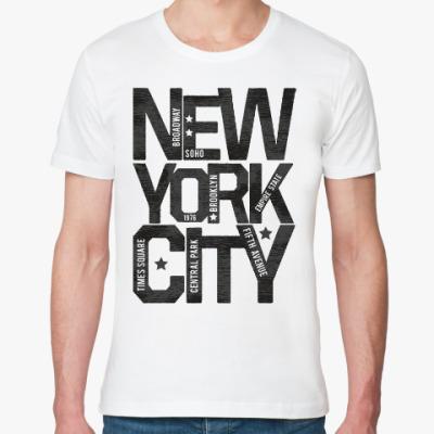 Футболка из органик-хлопка Нью-Йорк