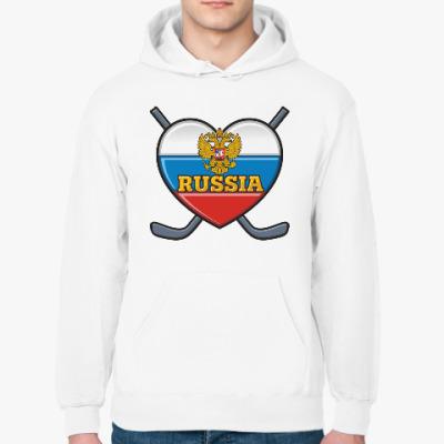 Толстовка худи Хоккей Сборная России Hockey