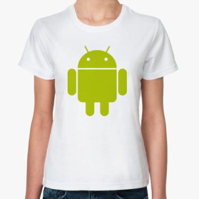 Классическая футболка  Android