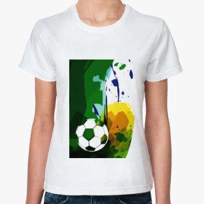 Классическая футболка Футбол арт