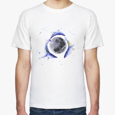 Футболка Лунные киты