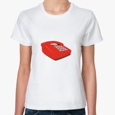Классическая футболка Телефон с кнопками