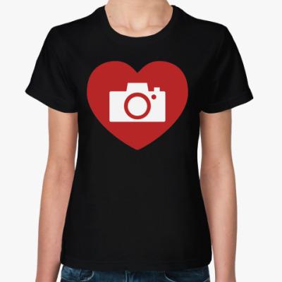 Женская футболка Lovephoto