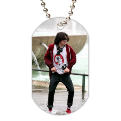 Жетон dog-tag Adam Sevani