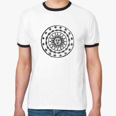 Футболка Ringer-T Солнечный круг