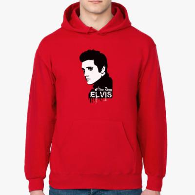 Толстовка худи Elvis the king