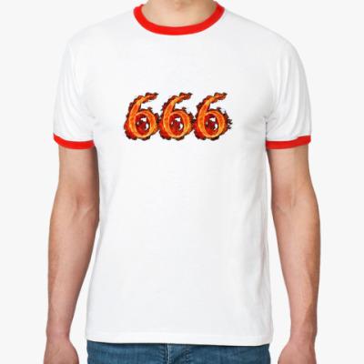 Футболка Ringer-T 666