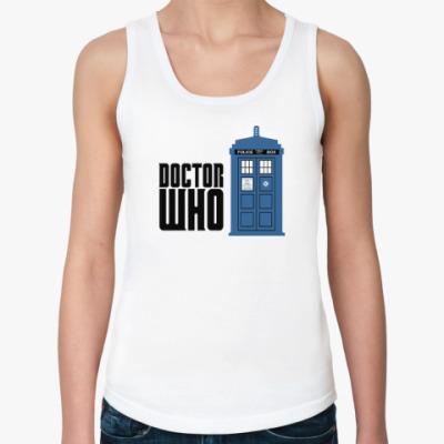 Женская майка Doctor Who