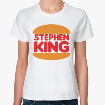 Классическая футболка Стивен Кинг